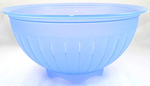 TW 1a Tupperware - Junge Welle Sieb, Durchschlag Sieber - 4L - blau