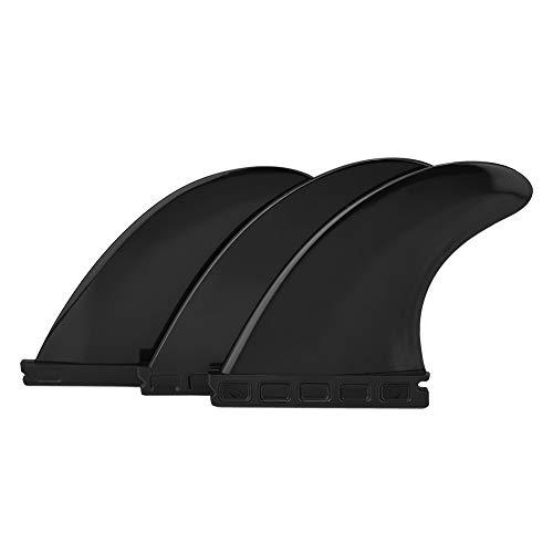 Ueohitsct Tri Fin Thruster Set Nylon Plastic Surfboard Aletas FCS o Futuro Aletas Surfboard G5
