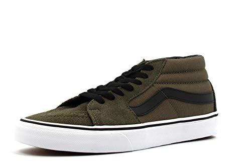 Vans Herren Sneaker SK8-Mid Sneaker VN0A3WM30FI1 grün 743389