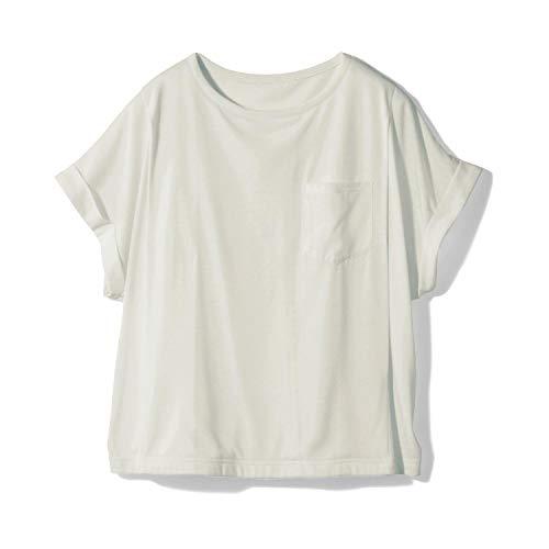 [ベルメゾン] マタニティ Tシャツ 半袖 授乳 ドロップショルダー 産後 Tシャツ・カットソー オフホワイト LL