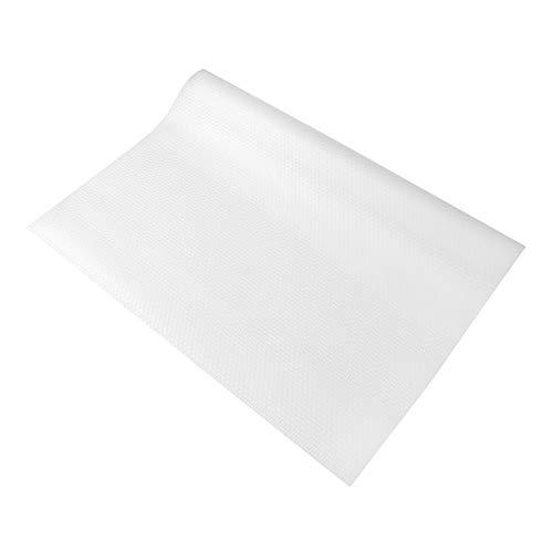 Xyedyaup Alfombrilla antideslizante para cajones de cocina, lámina transparente protectora para cajones de 30 x 600 cm, Eva antideslizante, resistente al agua, multiusos, para armarios o estanterías
