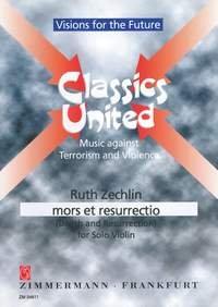 Zechlin, R., mors et resurrectio for solo violin