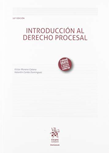 Introducción Al Derecho Procesal 10ª Edición 2019 (Manuales de Derecho Procesal)