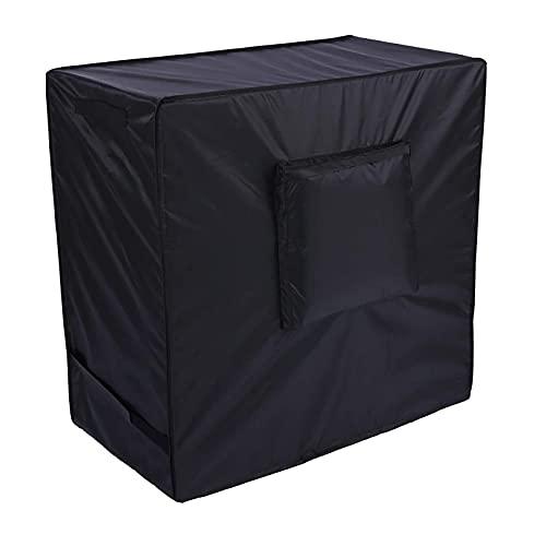 Gidenfly Cubierta Antipolvo 420D Oxford Tela Que Cubre Impermeable Resistente A Los Rayos UV Ajuste para Automóvil Refrigerado De Tipo Empuje, Carrito Al Aire Libre (37.4 X 19.68 X 36.22in)