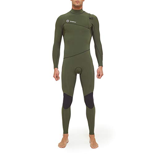 Traje DE Surf Hombre Premium 3/2 ZIPPERLESS Talla M