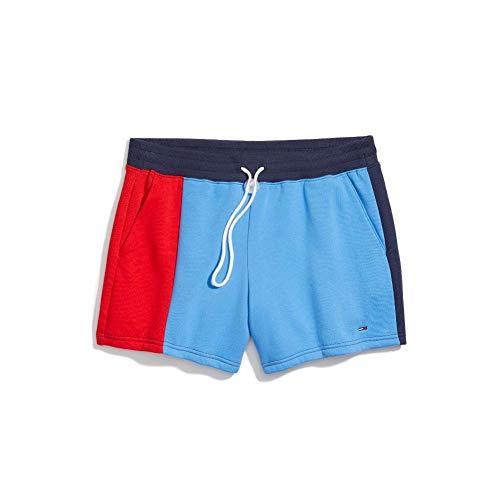 Tommy Hilfiger – Pantalones Cortos de sudoración adaptativos para Mujer con cordón y Trabillas para…