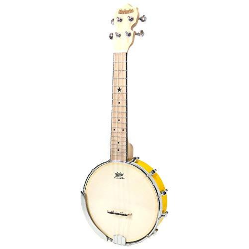 マーマァ バンジョーウクレレ コンサート MaAmAa MBU-PO Banjo Ukulele Pop Color Series (YE)