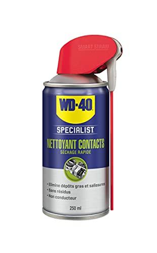 WD-40 Specialist • Nettoyant Contact • Spray Double Position • Elimine huile, dépôts gras, poussière, saleté, résidus de flux et condensation • Séchage Rapide • Non...