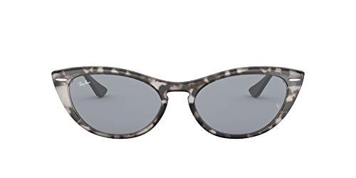Ray-Ban 0RB4314N Gafas de sol, Havana Grey, 53 para Mujer
