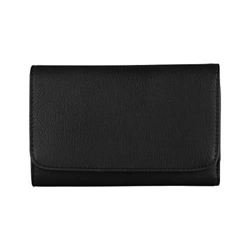 s.Oliver (Bags Damen Portemonnaie Geldbörse Schwarz (Black)
