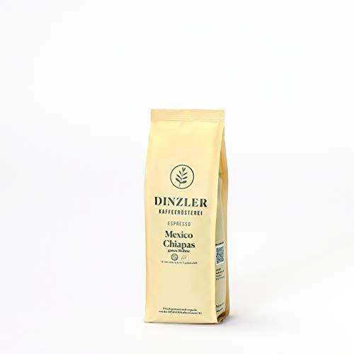 Dinzler Espresso Mexico Chiapas Organico - ganze Bohne - 250 g - Bio und Fair