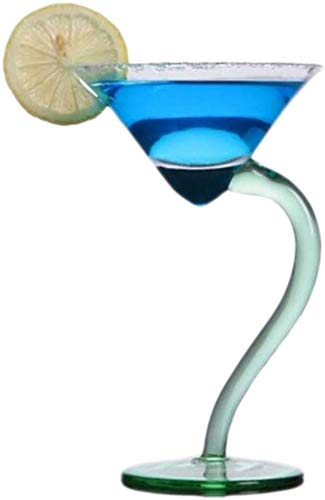 LLDKA Cóctel Copas de Martini Copa de cóctel Transparente Copas de champán Cristal Partido casero Bar de vinos Herramienta Creativa