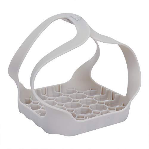 Alselo - Cesta de silicona portátil para cocinar al vapor, buen agarre, olla a presión para olla instantánea de 6 qt/8 qt, vaporizador antiadherente, ollas multifunción