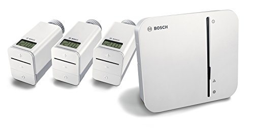 Bosch Smart Home Heizung Starter-Paket mit Controller und Heizkörper-Thermostat und App-Funktion - exklusiv für Deutschland