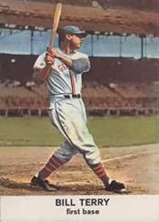 1961 Golden Press Regular (Baseball) card#5 Bill Terry of the New York Giants Grade Good