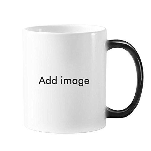 Chinese sterrenbeeld Gelukkig Nieuwjaar 2017 Jaar van de Haan Patroon Illustratie Morphing Warmte Gevoelige Veranderende Kleur Mok Cup Melk Koffie Met Handvatten 350 ml