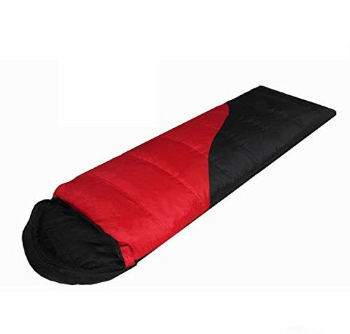 Sac De Couchage En Plein Air Respirant Chaud Agréable Pour La Peau Peut être épissé Spacieux Et Confortable,Red