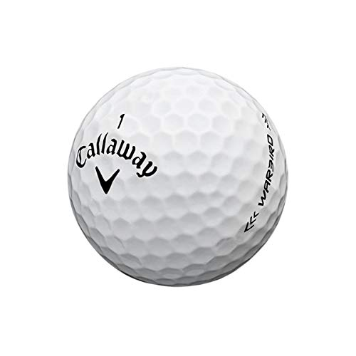 Callaway Warbird Golf Ball, Prior Generation, (One Dozen), White