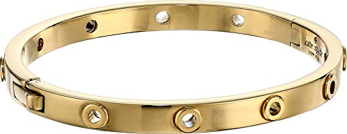 Kate Spade New York Heavy Metals Grommet Bangle Gold One Size
