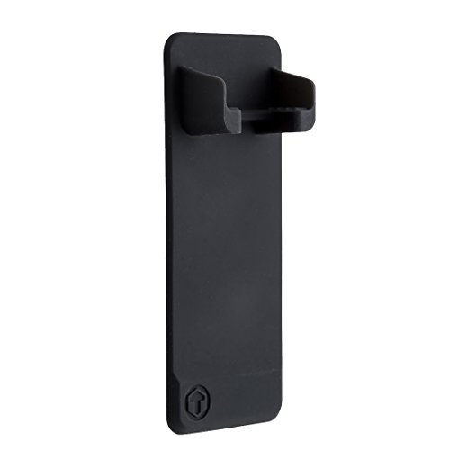 TOOLETRIES Rasierer-Halter Mighty 14x6cm in schwarz, Silikon, 14 x 6 x 2 cm