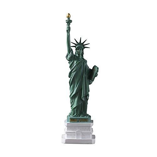 SHBV Estatua de la Libertad Escultura estatuilla de Resina Manualidades de Mesa Figuras Retro pequeños Adornos gabinete de Vino gabinete de TV decoración de Sala de Estar Accesorios para