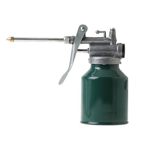 B Baosity 250ml Metall Thump Handpumpe Öltrichter Kfz Ölkannen Mit Ausguss Für Öl Jobs Auto Fahrzeuge