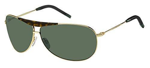 Tommy Hilfiger Gafas de Sol TH 1796/S Gold/Green 69/9/130 hombre