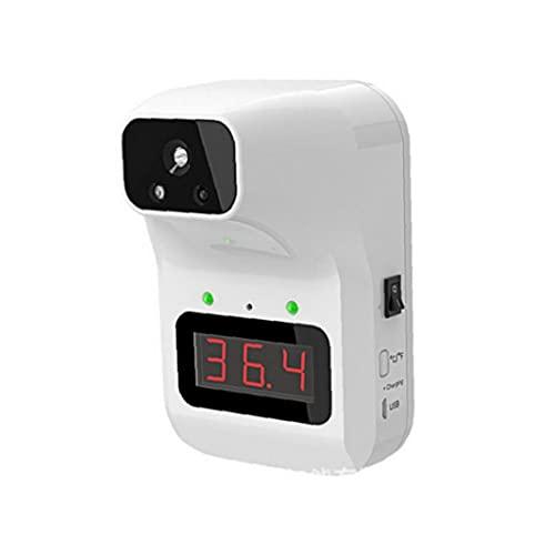 Termómetro digital automático Termómetro de fiebre de la frente montada en la pared para niños para niños adultos blanca alta precisión