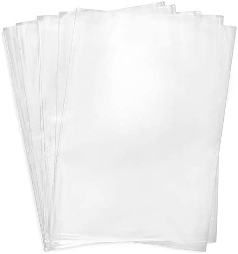 Shrink Wrap Bags 100 Pcs 12x17 Inches Clear PVC Heat Shrink Wrap for Packagaing Soap Shoes Bath product image