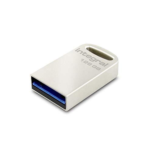 Integral Fusion - Chiavetta USB 3 argento 128 GB. 128 GB