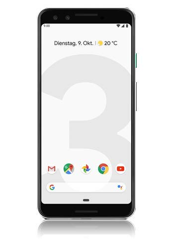 Google Pixel 3 128GB, Clearly White DE