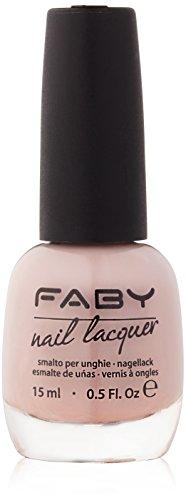 FABY Nagellack Naturally, 15 ml