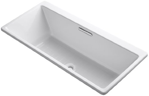 Kohler K-817-0 Reve 5.5Ft Drop-in/Undermount Bath, White