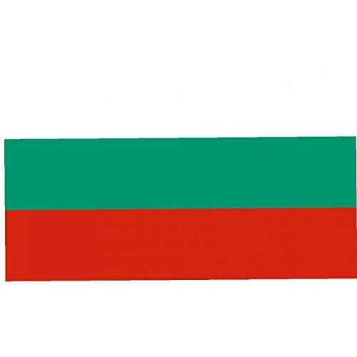 Nicetruc Bulgarien-Flagge 3 * 5 Ft Genäht Streifen Robuste Bulgarien-Flagge 90 * 150cm Bulgarische Fahne 1pcs