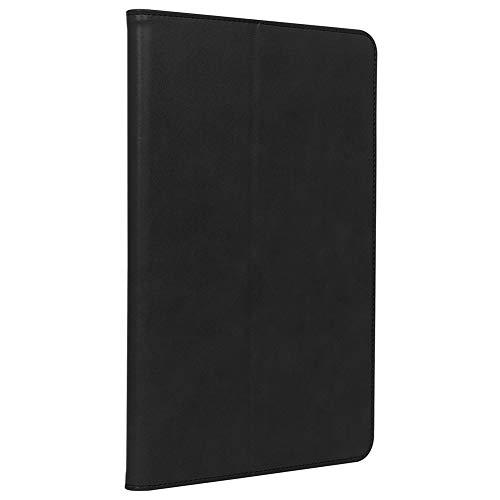 ISIN Premium PU Folio Funda protectora con soporte para Samsung Galaxy Tab S7+ Plus SM-T970 SM-T975 SM-T976B (no para Tab S7 SM-T870 T875 T876B, Tab S6 SM-T860 T865) Android Tablet PC (negro)