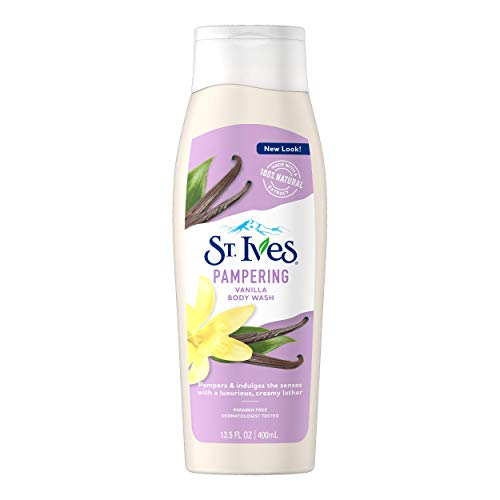 St. Ives Rich and Creamy Body Wash, Vanilla 13.5 oz by St. Ives