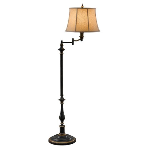 Where To Buy Murray Feiss Fl6237 Maddalyn 1 Light Swing Arm Floor Lamp Antique Brown Colby Manna