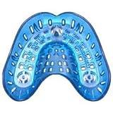 Porta impronta Forati monouso - Ricambi plastica 36 pz n. 2 inferiore Azzurro Codice: L236