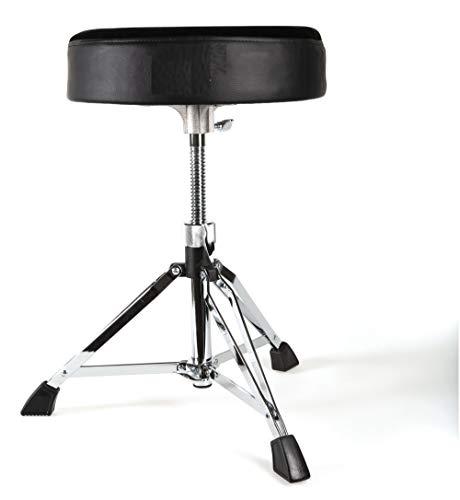 GEWA pure Schlagzeughocker rund DT-400, höhenverstellbar, doppelstrebig