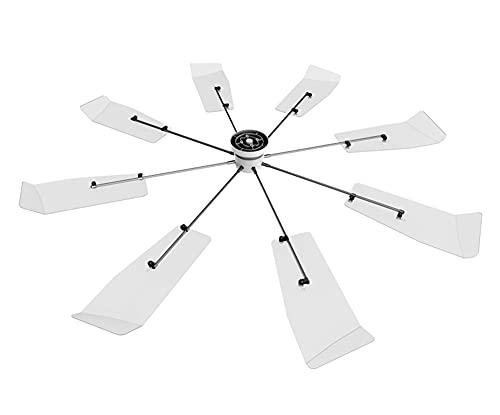 SY-Home Zentrales Klima-Windabweiser, Neuer Anti-Direkt Blasender Ventilator Deckenklimatisierung Energiesparventilator Zentrales Klima-Windabweiser