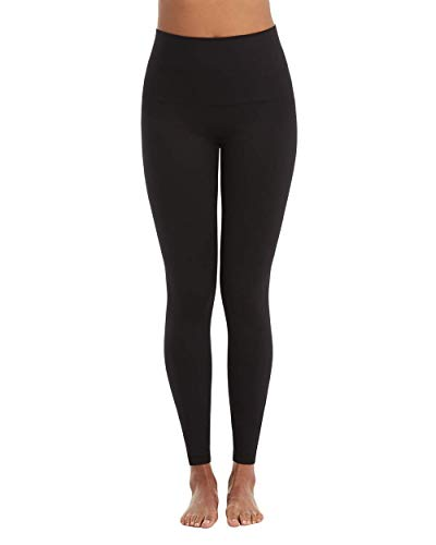 SPANX Leggings for Women Look at Me Now Seamless Leggings (Regular and Plus Sizes) Black XL