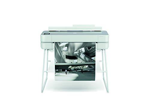HP DesignJet Studio Steel Large Format Wireless Plotter Printer - 24', with High-Tech...