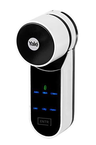 Cilindro motorizado ENTR Yale-Starter Kit (unidad electrónica ENTR+ app móvil)