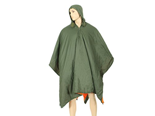 BE-X Frontier One Poncho Liner aus 30D Ripstop Nylon & Primaloft - mit Schlafsack Funktion