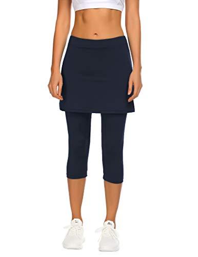 Balancora Hosenrock Damen Sportswear-Röcke 2 in 1 Golfkleidung Laufskort für Frauen Mädchen