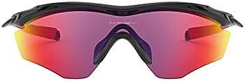 Oakley Men's M2 Frame XL Shield Sunglasses (Polished Black/Prizm Road)
