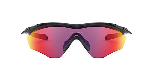 Oakley Unisex Sonnenbrille M2 Frame XL OO9343-08, Farbe des Gestells: Polished Black Linsenfarbe: Prizm Road, 45