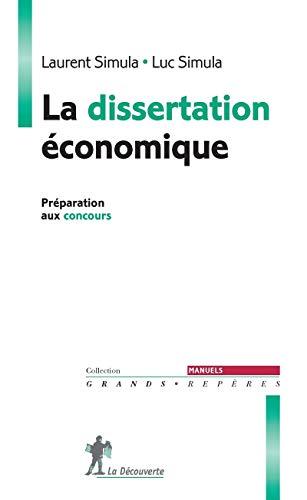 La dissertation économique