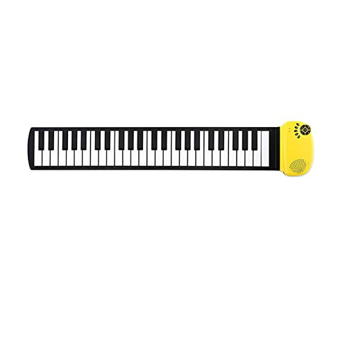 GUOQING Keys Roll Up Piano Mini Electronic Keyboard Piano For Students Children Kids Girl Boy (Color : A)