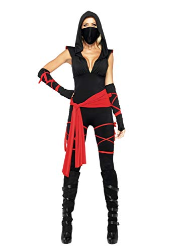 Sexy Deadly Ninja Costume - XS